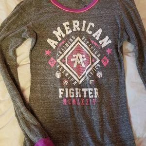 American Fighter Tops - American fighter longsleeve